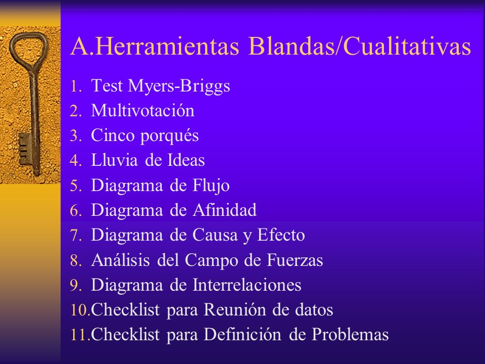 A.Herramientas Blandas/Cualitativas