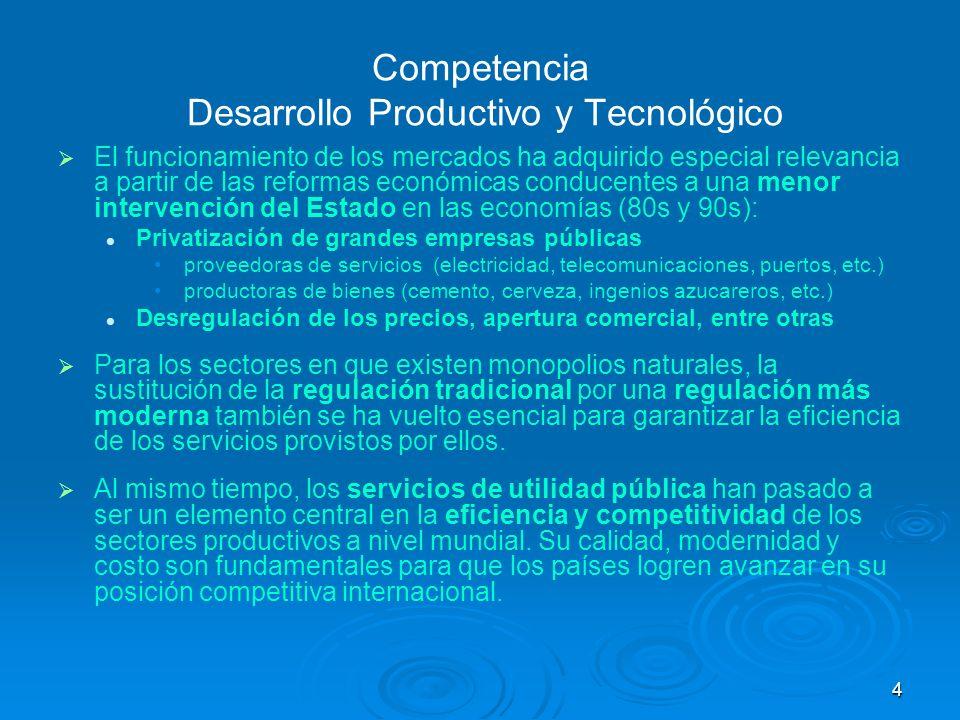 Competencia Desarrollo Productivo y Tecnológico