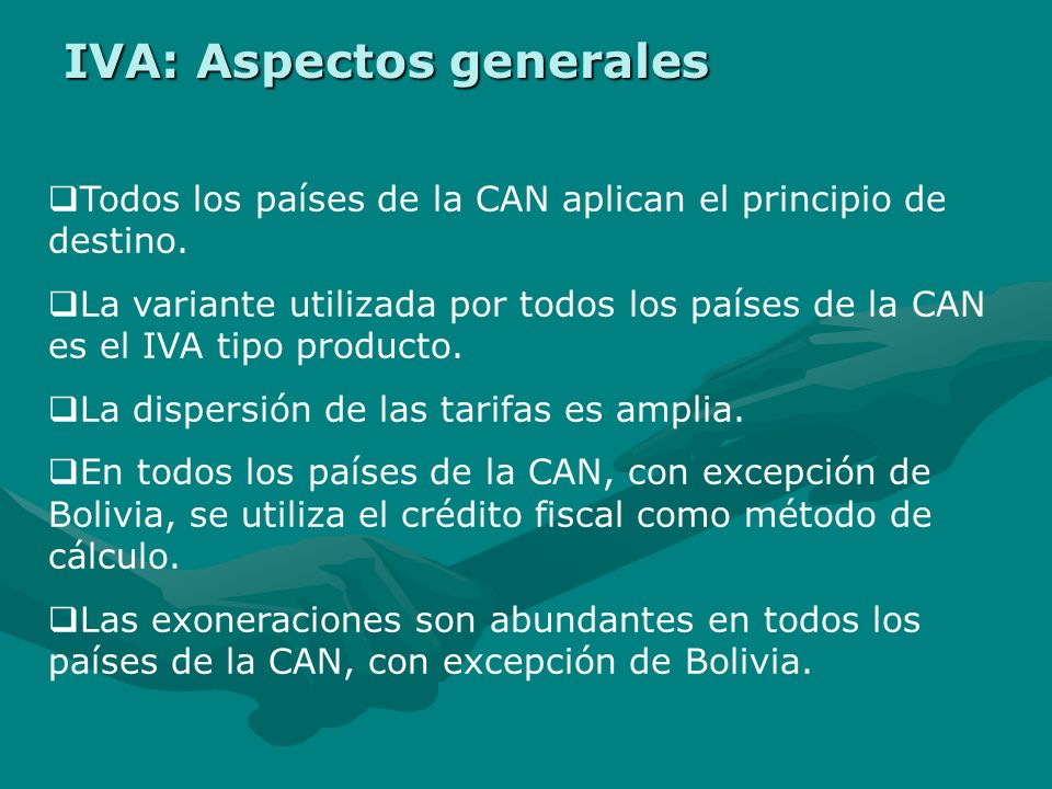 IVA: Aspectos generales