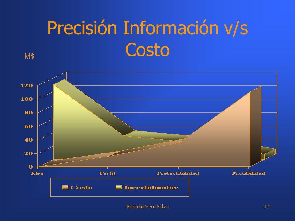 Precisión Información v/s Costo