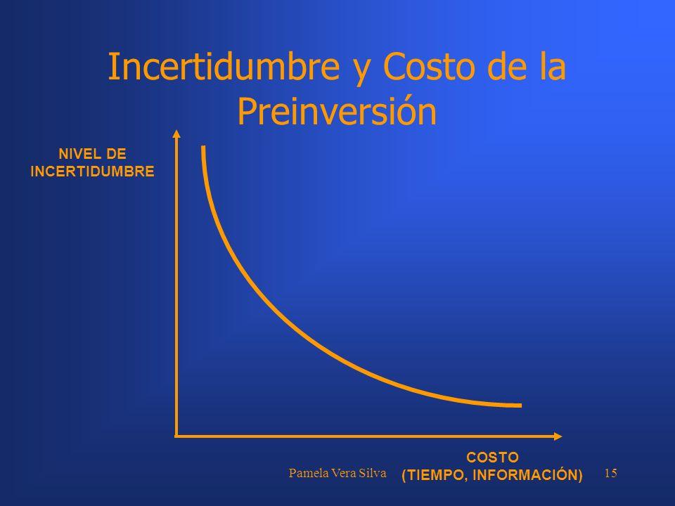 Incertidumbre y Costo de la Preinversión