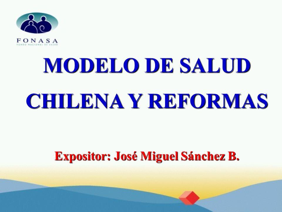 Expositor: José Miguel Sánchez B.