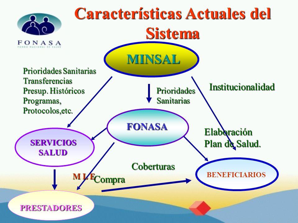 Características Actuales del Sistema