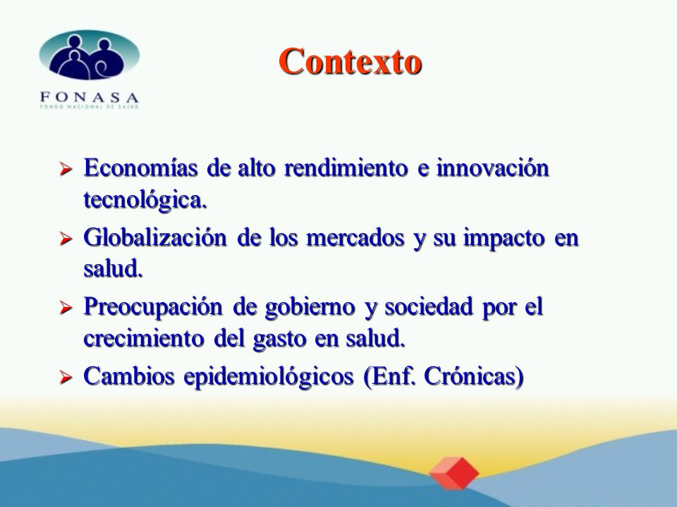 Contexto Economías de alto rendimiento e innovación tecnológica.