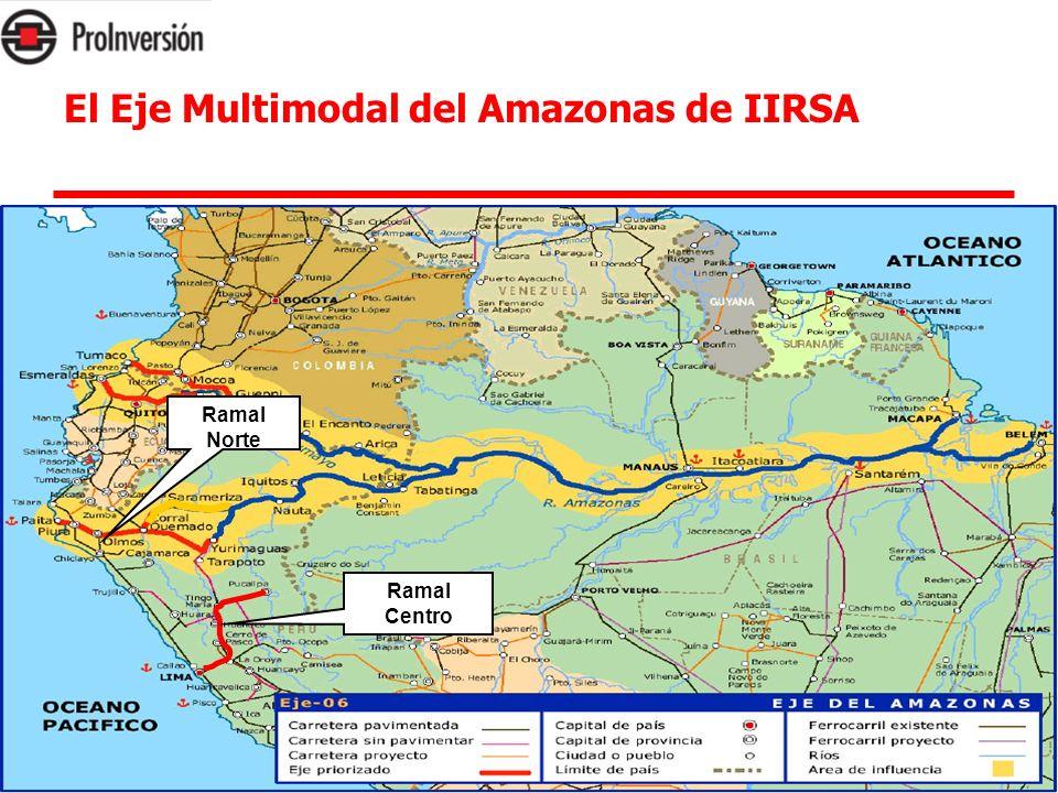 El Eje Multimodal del Amazonas de IIRSA