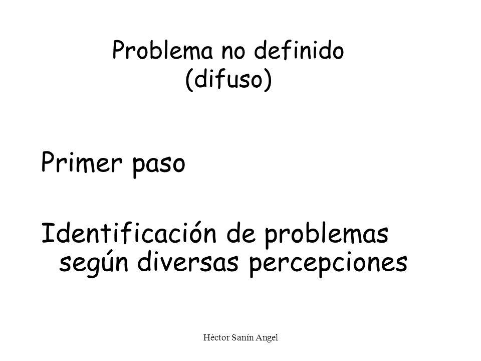 Problema no definido (difuso)