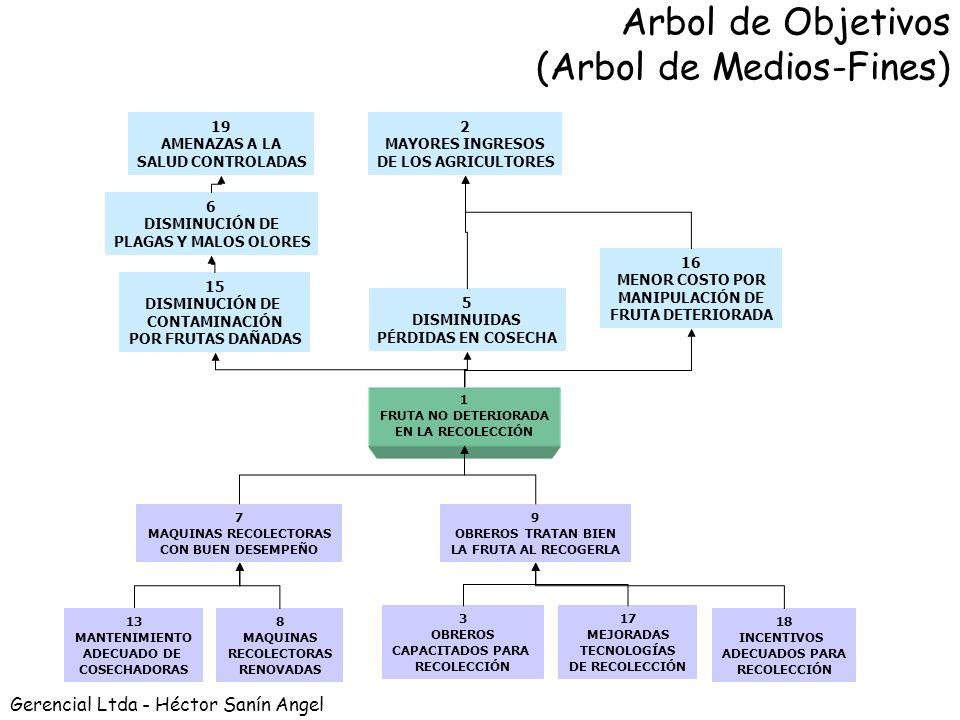 Arbol de Objetivos (Arbol de Medios-Fines)