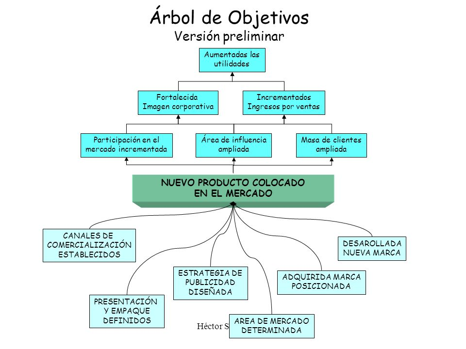 Árbol de Objetivos Versión preliminar