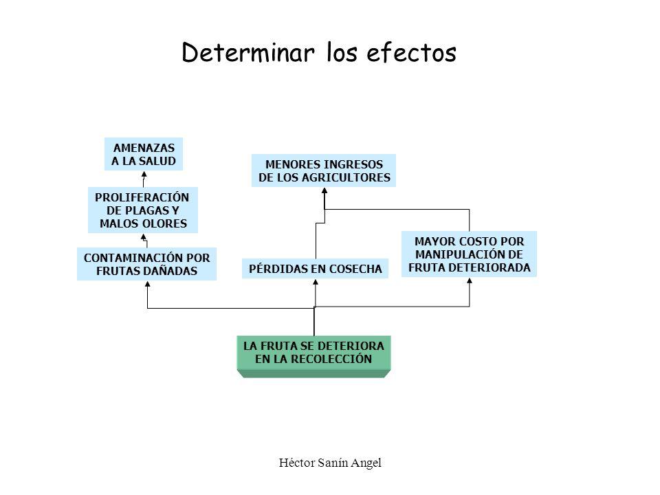 Determinar los efectos