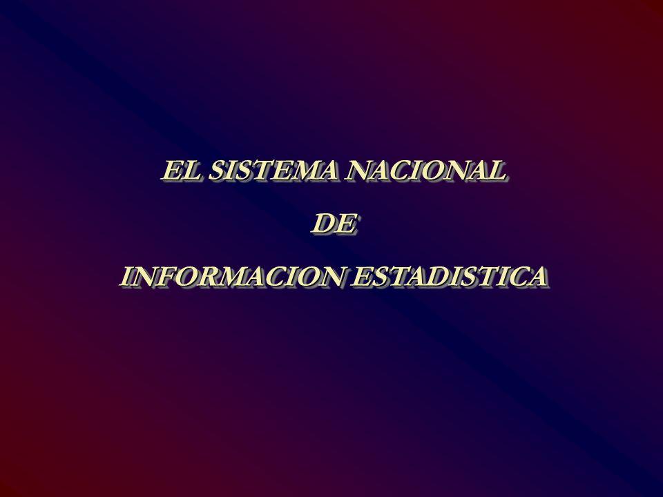INFORMACION ESTADISTICA