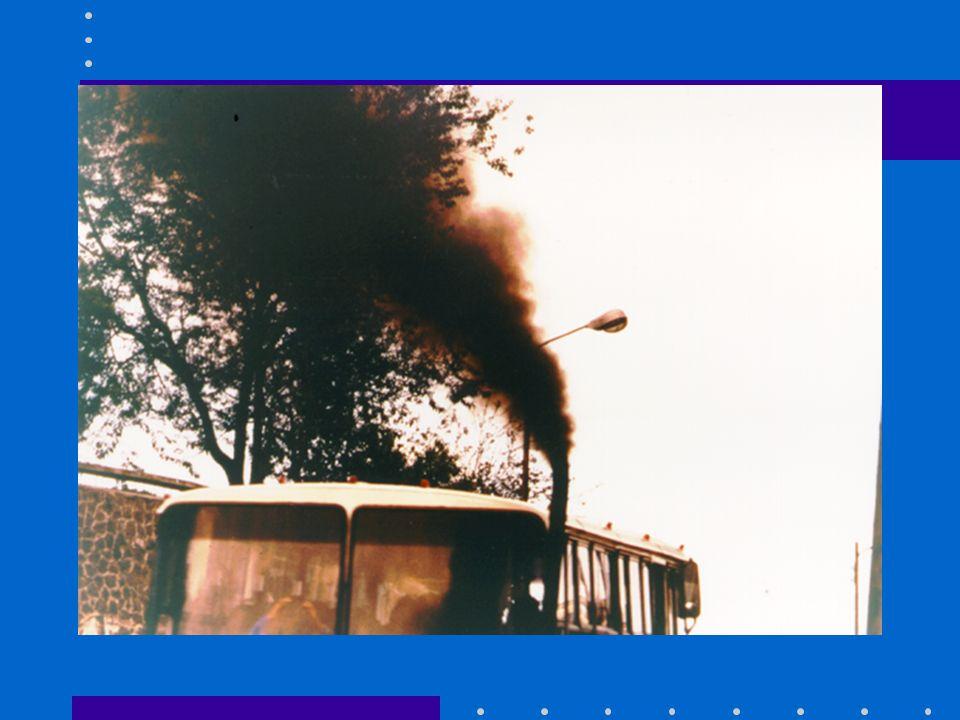 FOTO CONTAMINACIÓN (escape de un autobús)