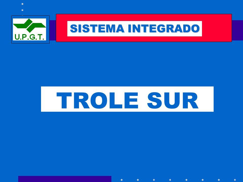 SEMAFORIZACIÓN SISTEMA INTEGRADO TROLE SUR