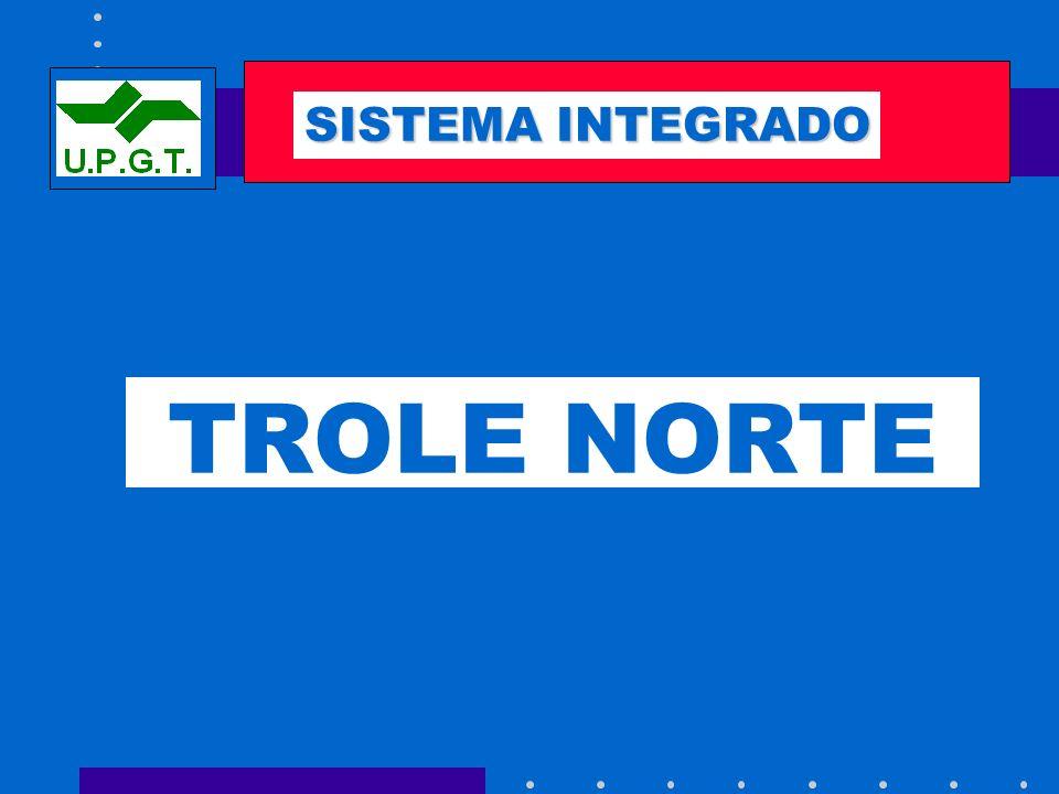 SEMAFORIZACIÓN SISTEMA INTEGRADO TROLE NORTE