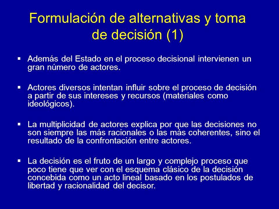 Formulación de alternativas y toma de decisión (1)