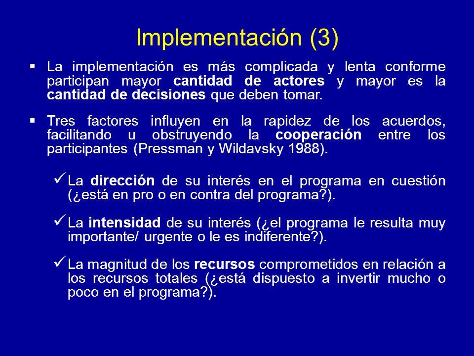 Implementación (3)