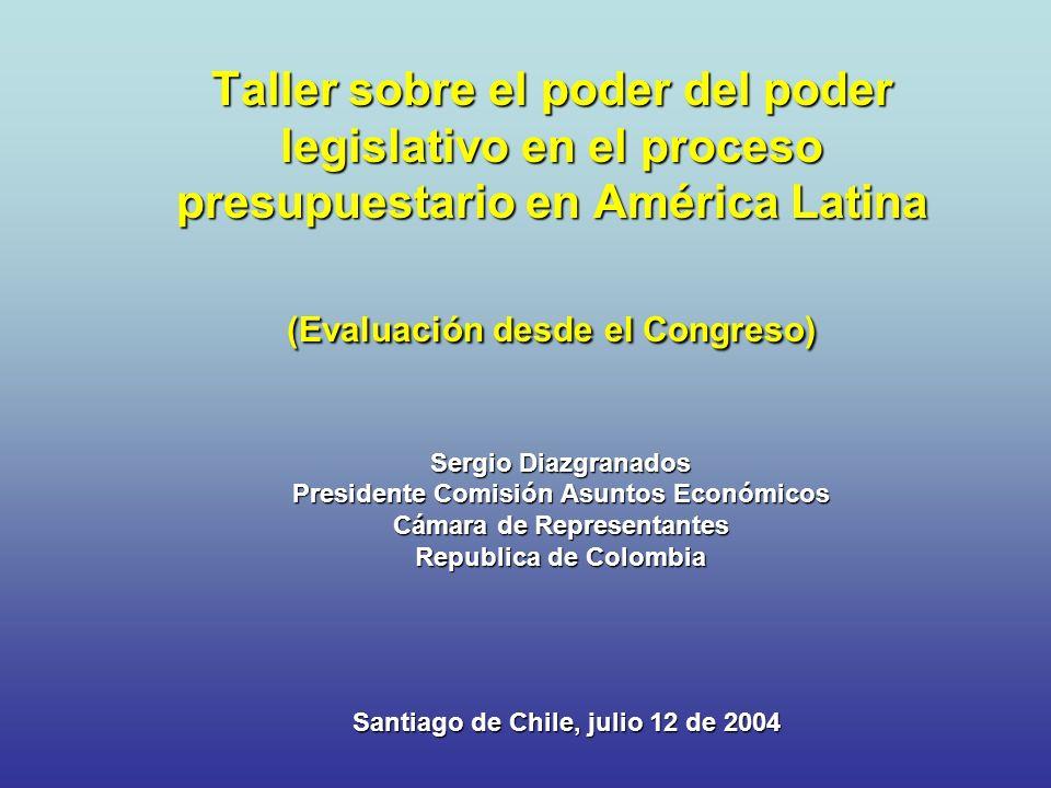 Presidente Comisión Asuntos Económicos Cámara de Representantes