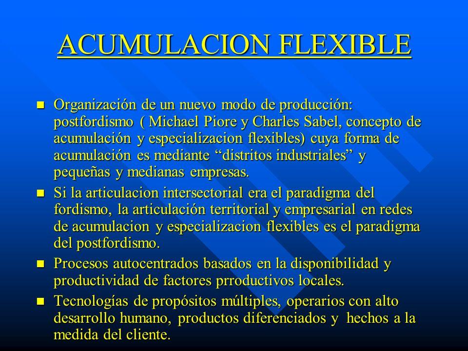 ACUMULACION FLEXIBLE