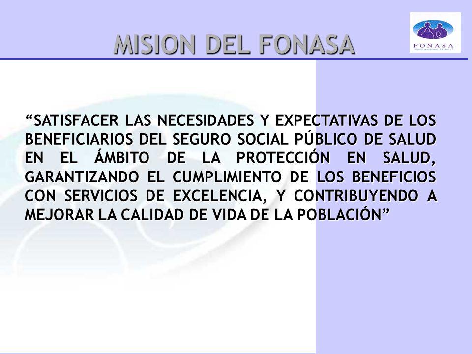 MISION DEL FONASA