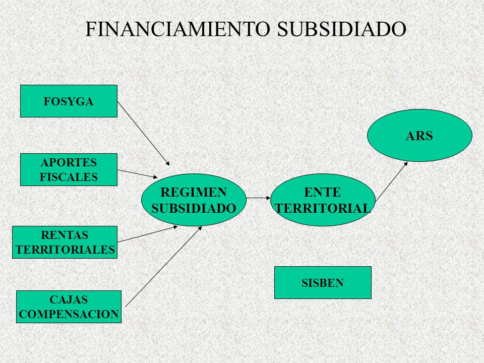 FINANCIAMIENTO SUBSIDIADO