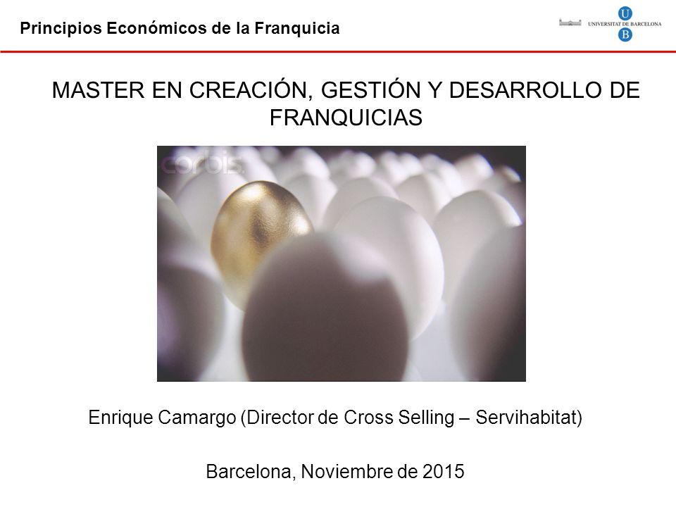 MASTER EN CREACIÓN, GESTIÓN Y DESARROLLO DE FRANQUICIAS