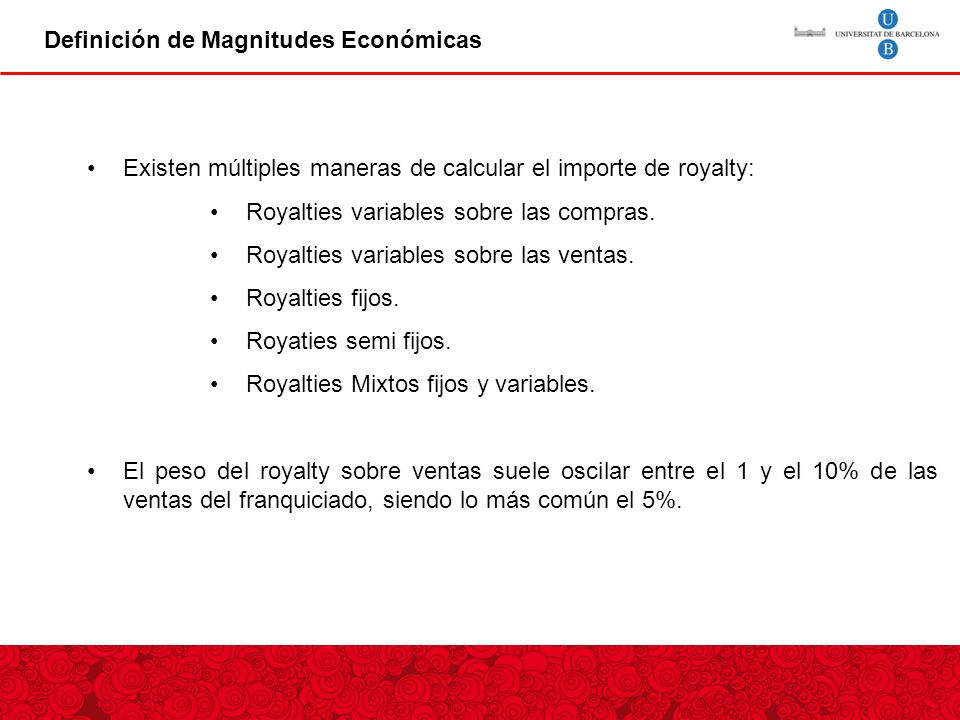 Definición de Magnitudes Económicas