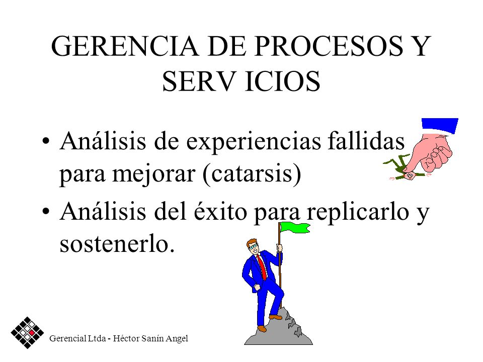 GERENCIA DE PROCESOS Y SERV ICIOS