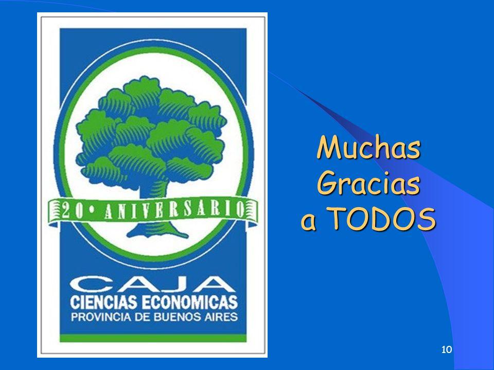 Muchas Gracias a TODOS