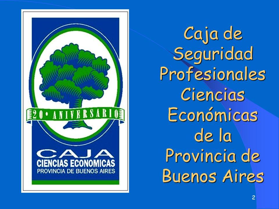 Caja de Seguridad Profesionales Ciencias Económicas de la Provincia de Buenos Aires