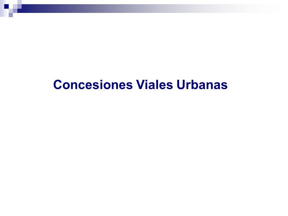 Concesiones Viales Urbanas