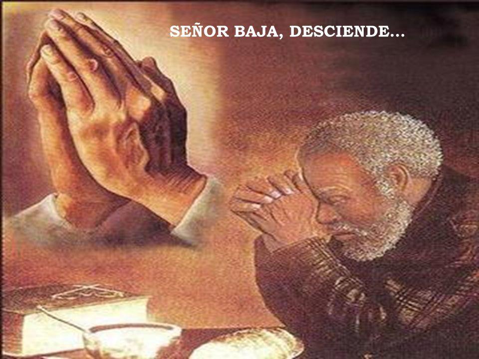 SEÑOR BAJA, DESCIENDE…