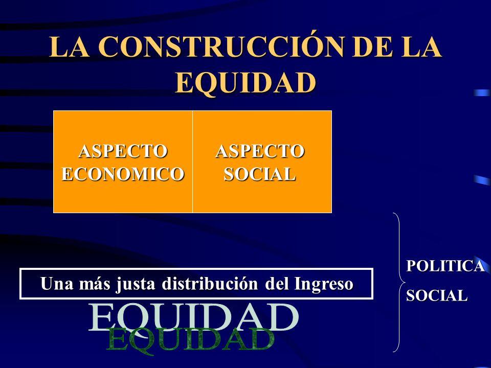 LA CONSTRUCCIÓN DE LA EQUIDAD