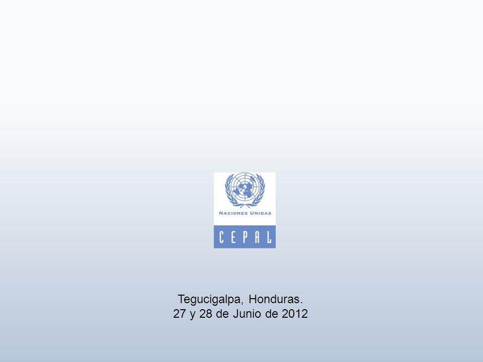 Tegucigalpa, Honduras. 27 y 28 de Junio de 2012