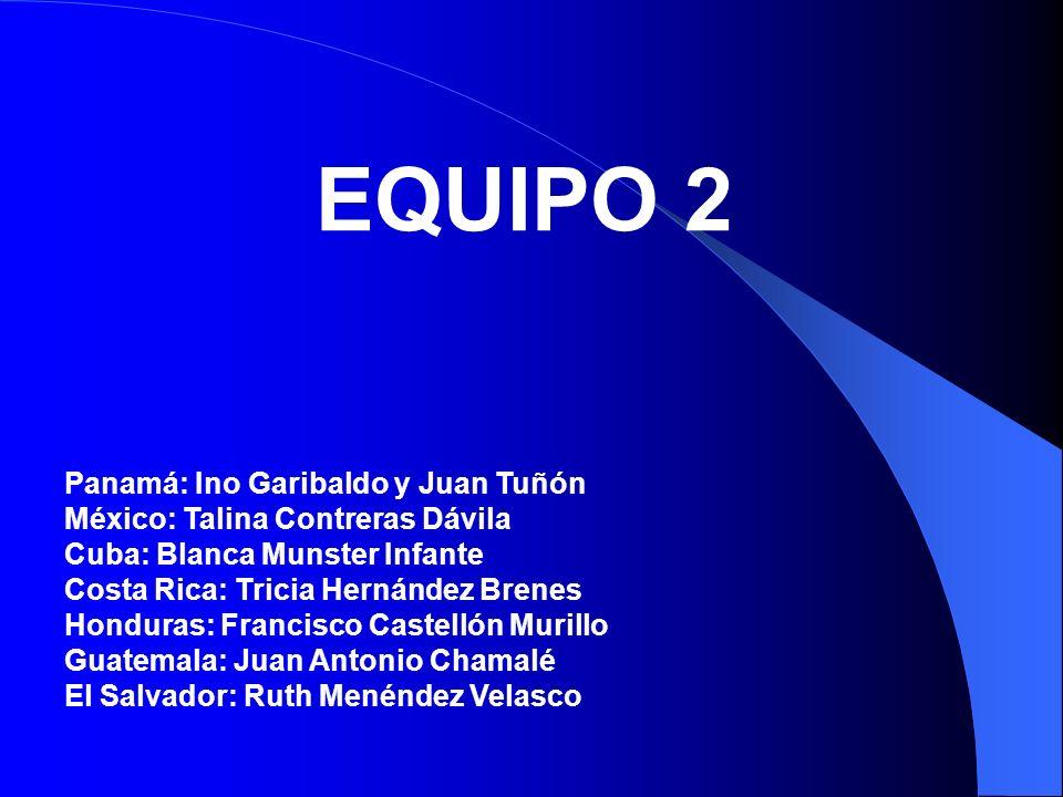 EQUIPO 2 Panamá: Ino Garibaldo y Juan Tuñón