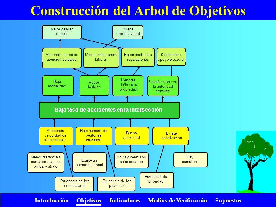 Construcción del Arbol de Objetivos