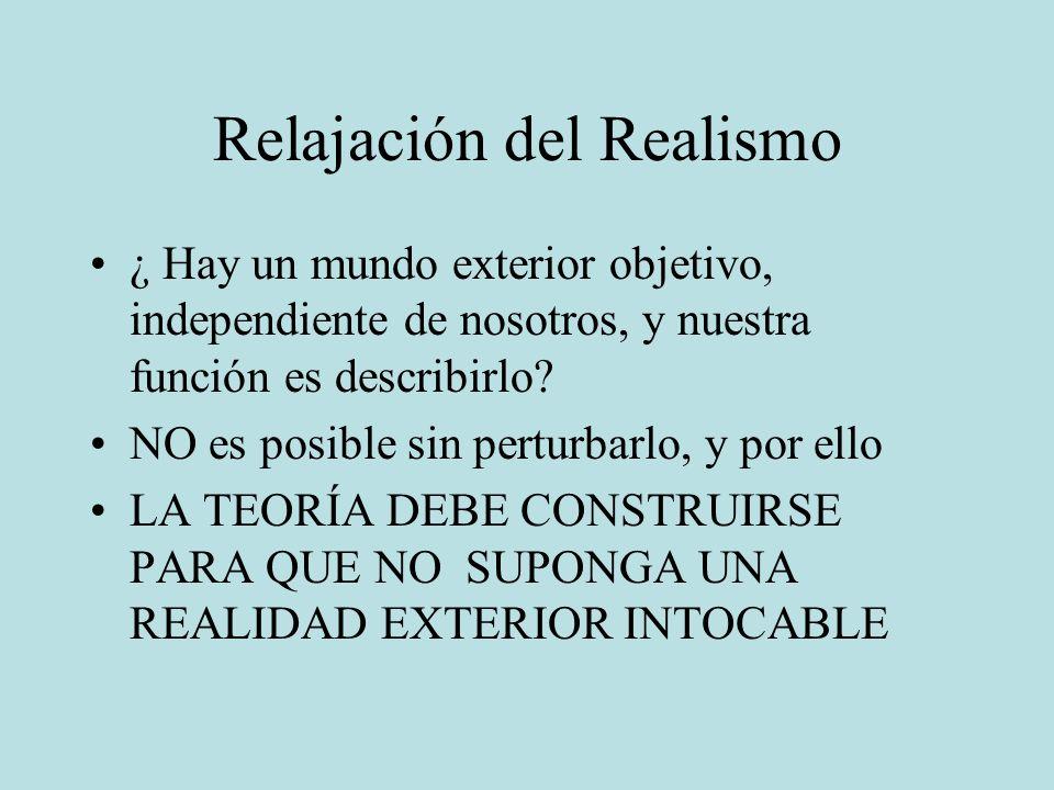 Relajación del Realismo