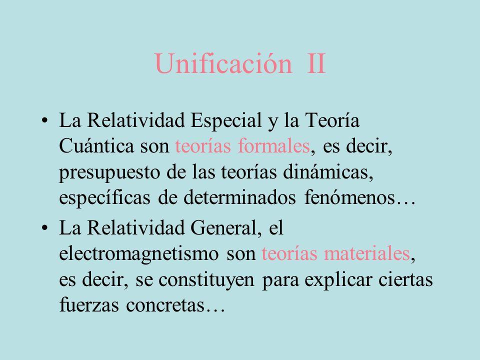 Unificación II