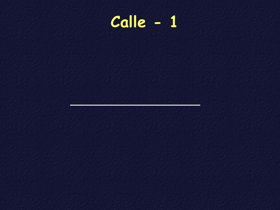 Calle - 1