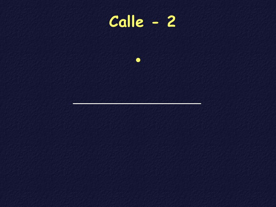 Calle - 2