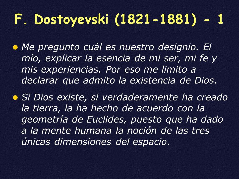 F. Dostoyevski (1821-1881) - 1