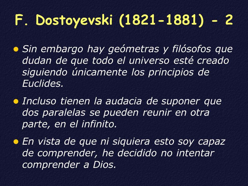 F. Dostoyevski (1821-1881) - 2