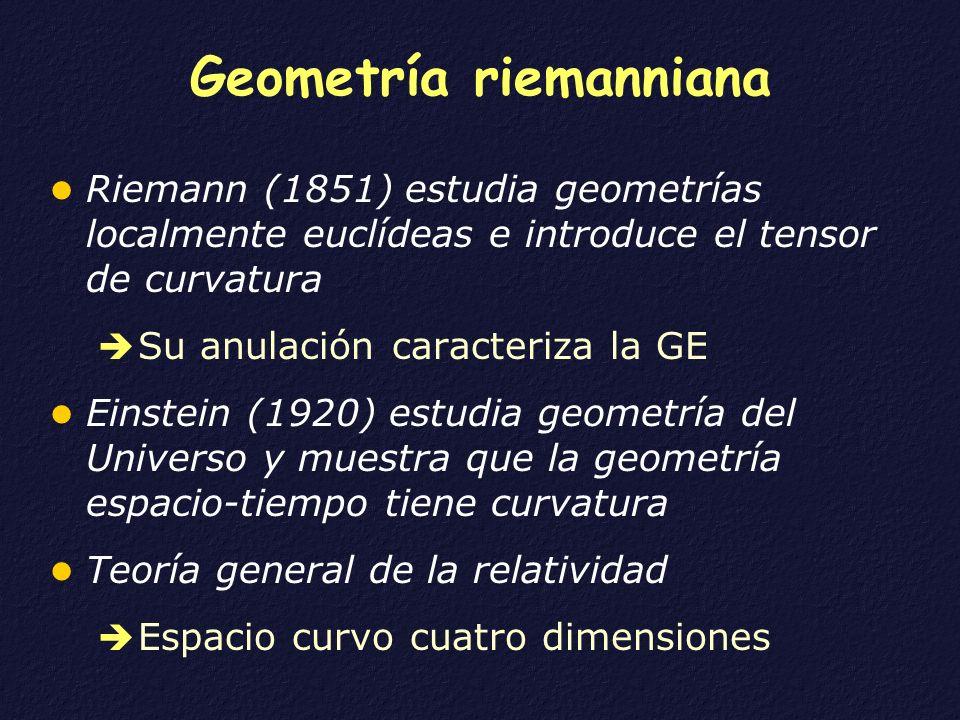 Geometría riemanniana