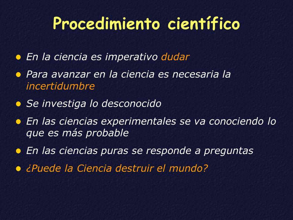 Procedimiento científico