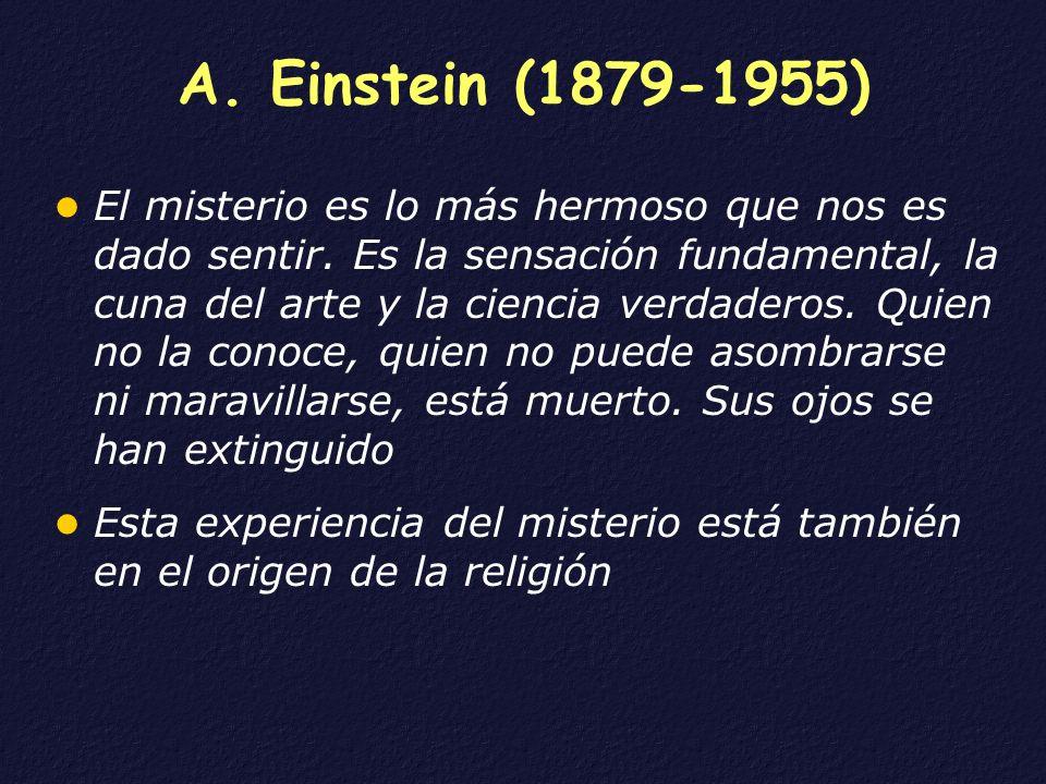 A. Einstein (1879-1955)