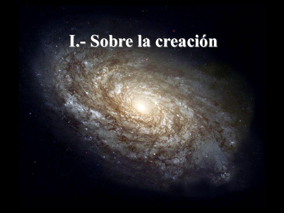 I.- Sobre la creación