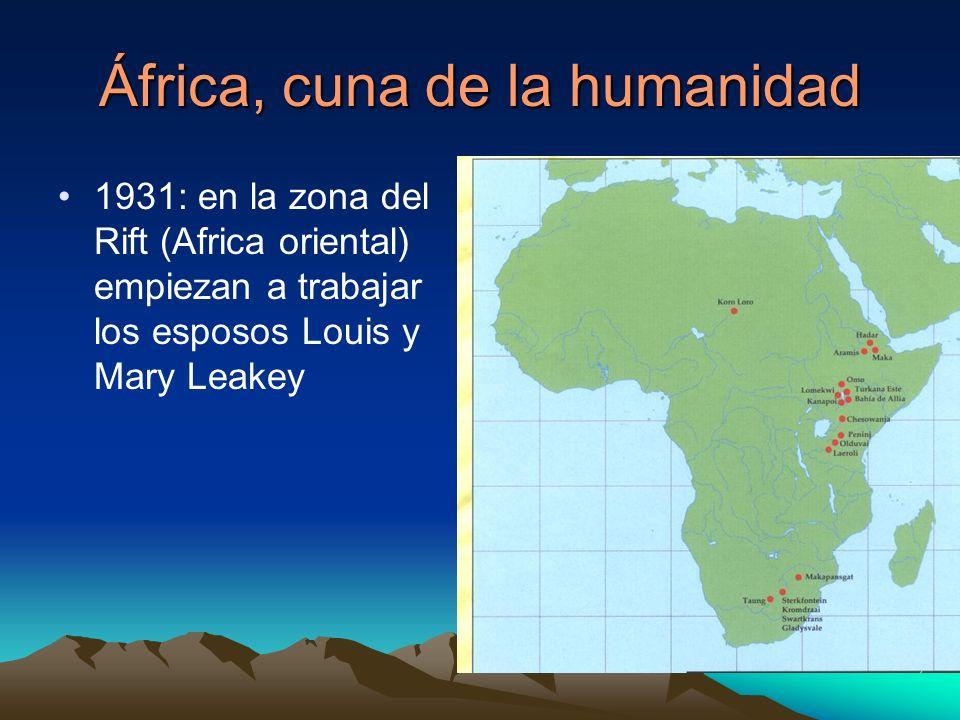 África, cuna de la humanidad