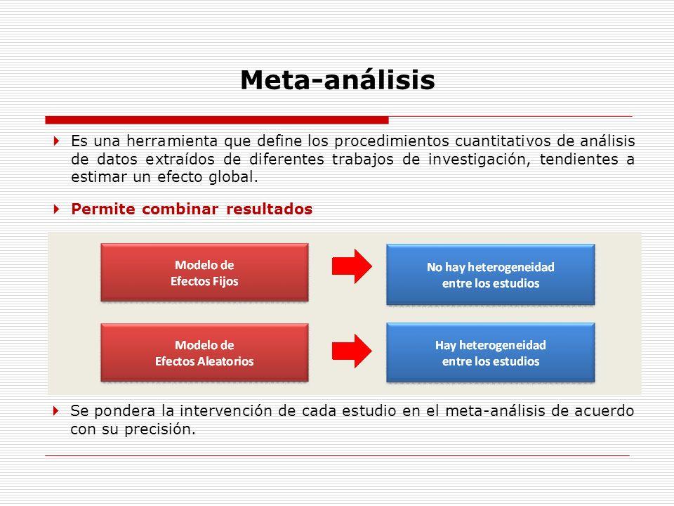 Meta-análisis