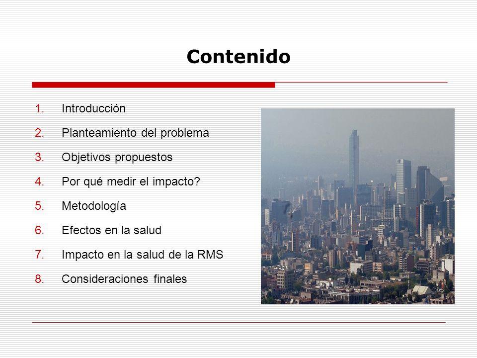 Contenido Introducción Planteamiento del problema Objetivos propuestos
