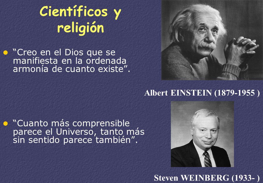 Científicos y religión