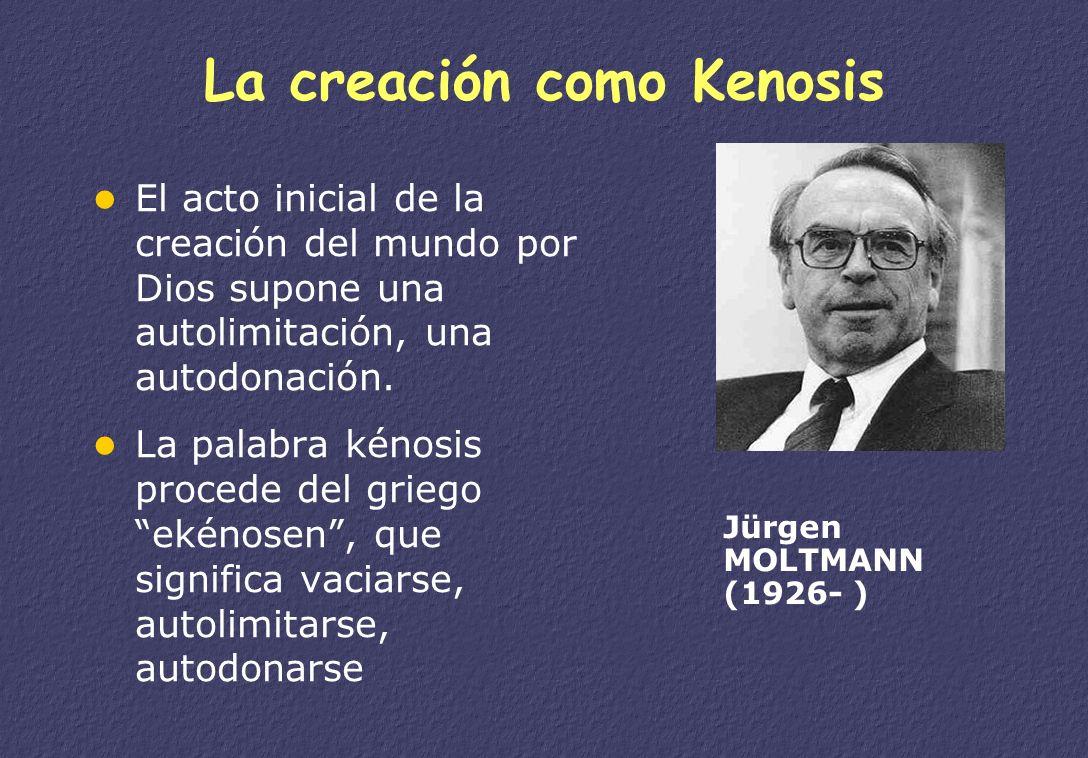 La creación como Kenosis