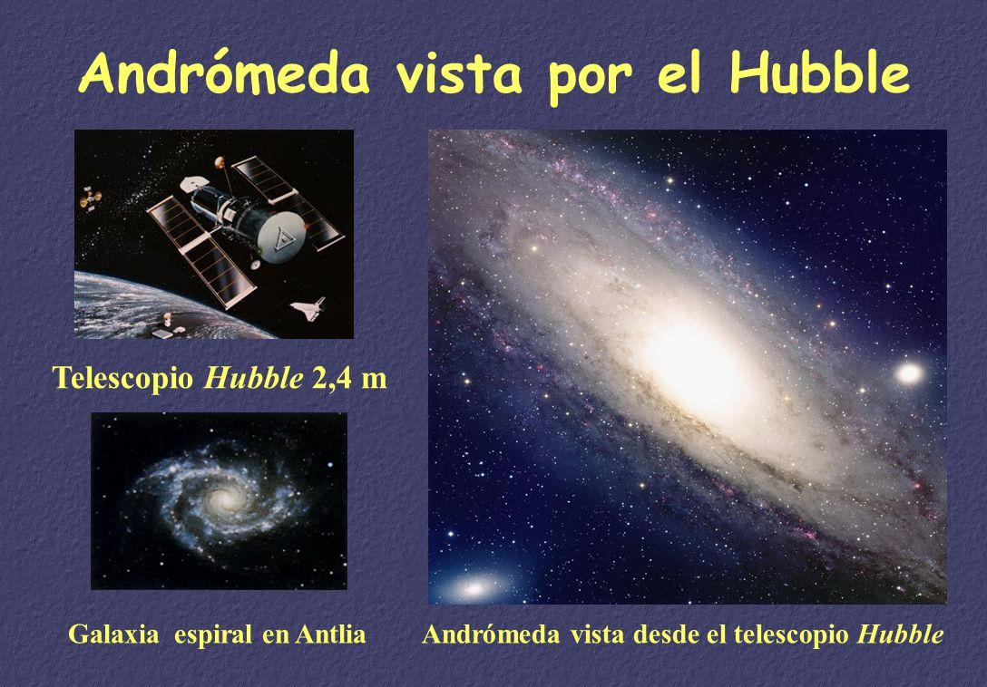 Andrómeda vista por el Hubble